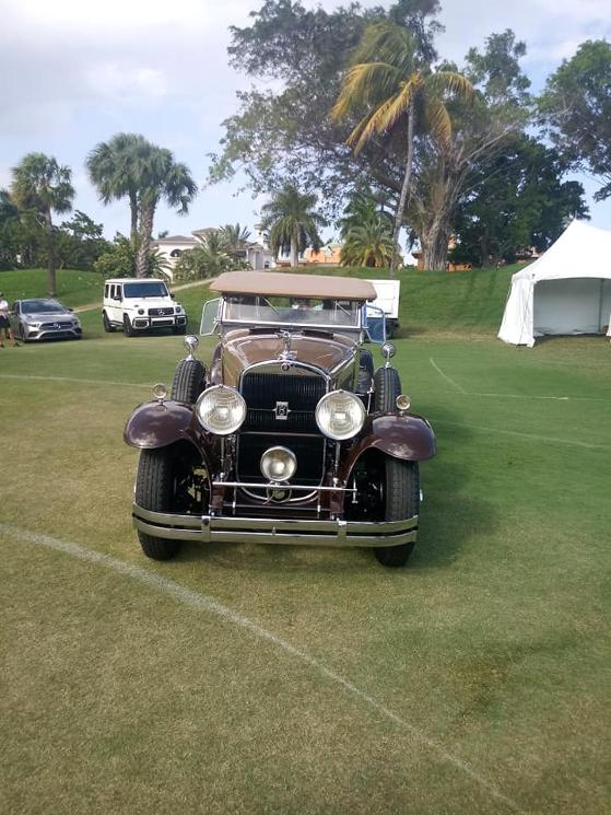 Classic Ford V8 at 2019 Boca Raton Concours d'Elegance
