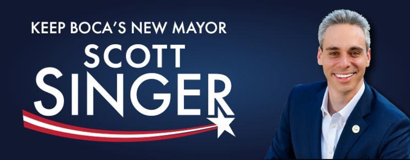South Florida Monthly Endorses Scott Singer